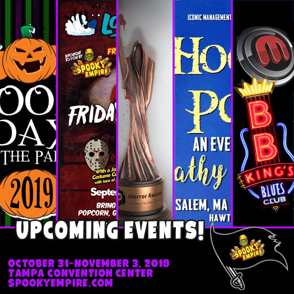 Upcoming Spooky Events!