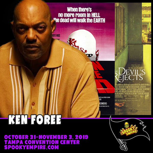 Make way for KEN FOREE, returning this Fall to Spooky Empire!