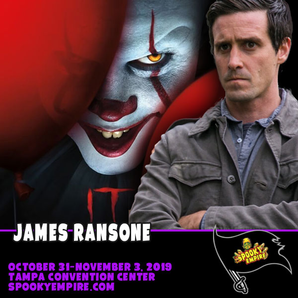 Meet James Ransone, Star of IT Chapter Two!