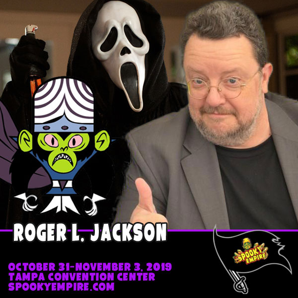 The Voice of Ghostface Makes His First Appearance At Spooky!