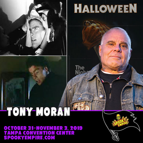 Tony Moran Returns to Spooky Empire this Fall!