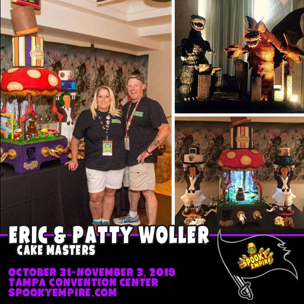 Food Network Cake Masters Return to Spooky Empire!