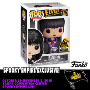 New Exclusives Coming to Spooky Empire, Including Elvira Funko Pop!