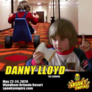 First Guest Announcement of 2020 is here! Meet Danny Lloyd of The Shining!