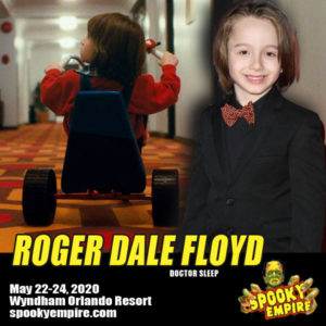 Roger Dale Floyd Appearing at Spooky Empire this May!