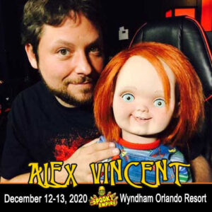 Alex Vincent Joins our Pop Up This Weekend!