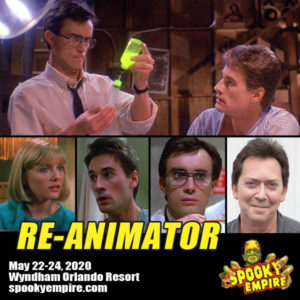 Meet the Cast of Re-Animator at Spooky Empire!