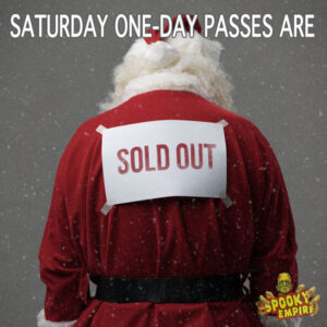 Saturday One-Day Passes are SOLD OUT!