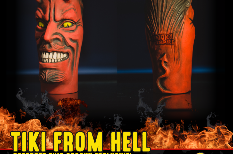 Our Latest Exclusive Tiki is From Hell!