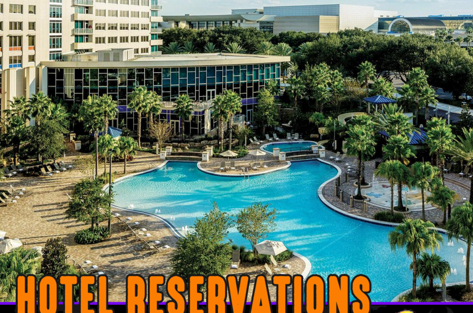 Hyatt Room Rate Ends OCT 7th Book NOW!