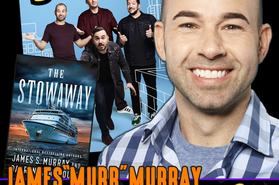 """Meet Impractical Jokers Star and Best Selling Author James """"Murr"""" Murray"""