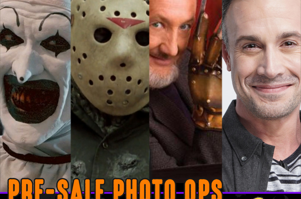 Pre Sale Photo Ops Are Now On Sale!