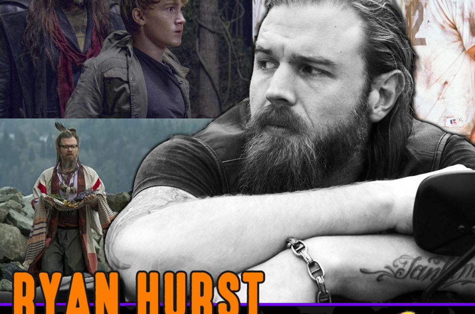 With Just a Week to Go, Ryan Hurst Joins Us!